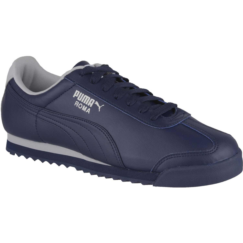 Puma ROMA BASIC Azul / gris Walking | platanitos.com
