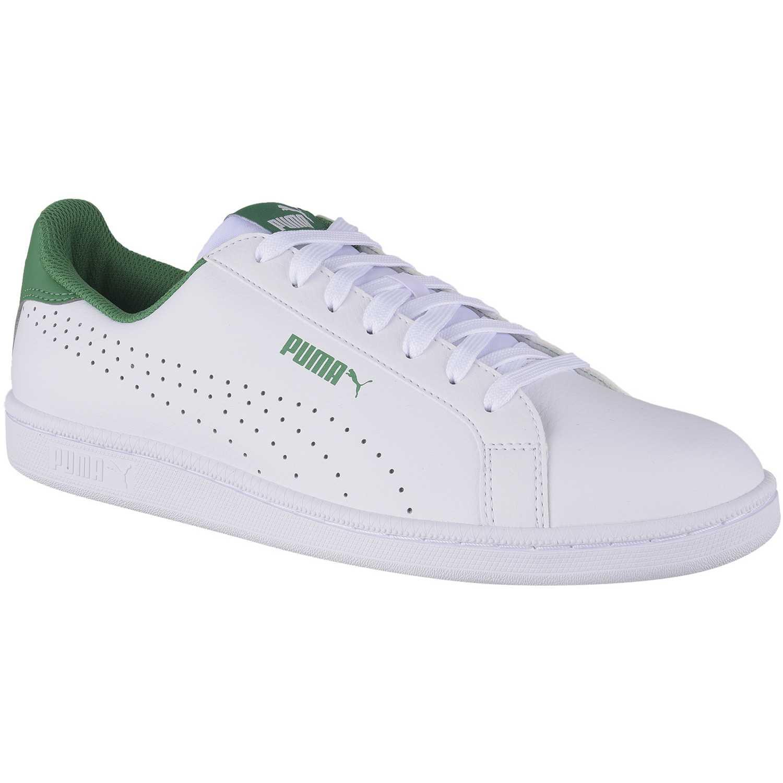 zapatillas puma hombre blanco