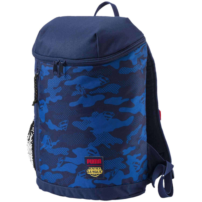 Puma justice league hero backpack (superman) Azul mochilas