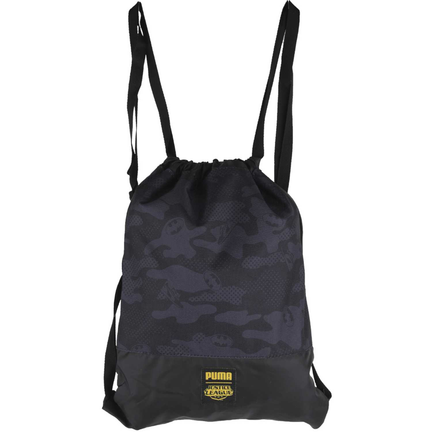 Bolso de Niño Puma Negro justice league gym sack (batman)