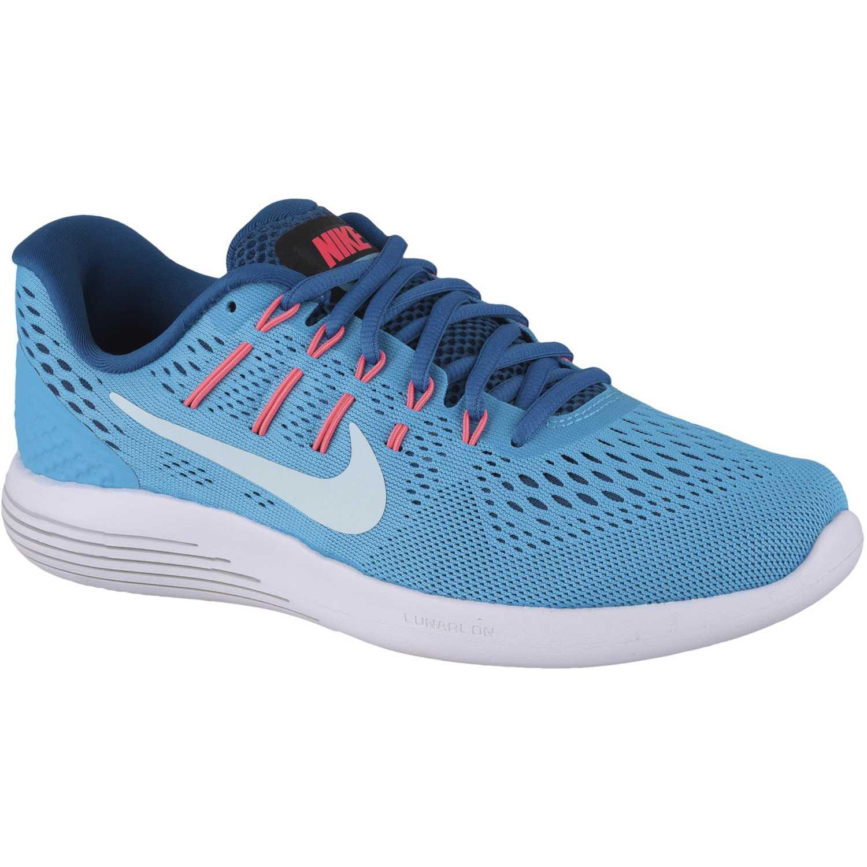 Nike wmns lunarglide 8 Celeste blanco Running en pista