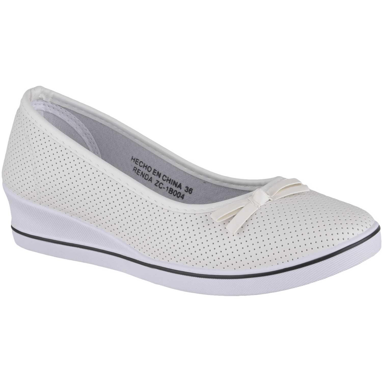Just4u Zc-1b004 Blanco Zapatillas de moda