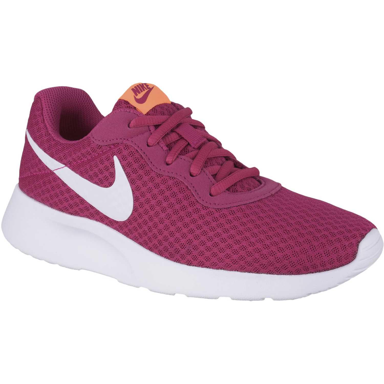 Nike wmns tanjun Fucsia / blanco Walking