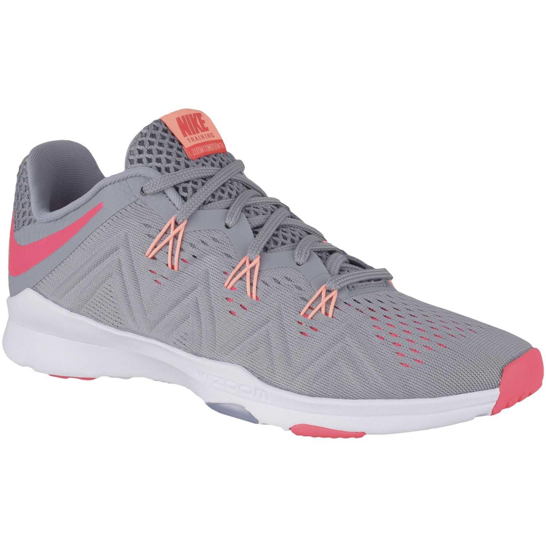 Deportivo de Mujer Nike Gris / rosado wmns zoom condition tr