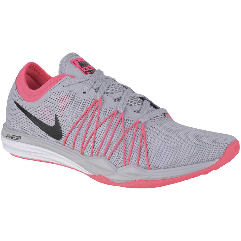 Deportivo de Mujer Nike Gris / rosado wmns dual fusion tr hit