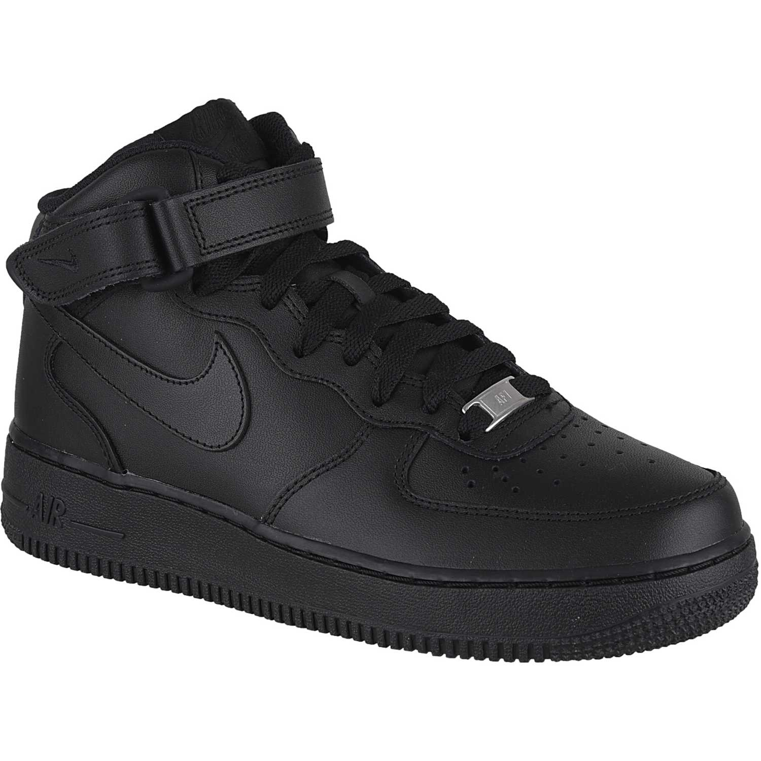 Nike wmns air force 1 07 mid Negro / negro Walking