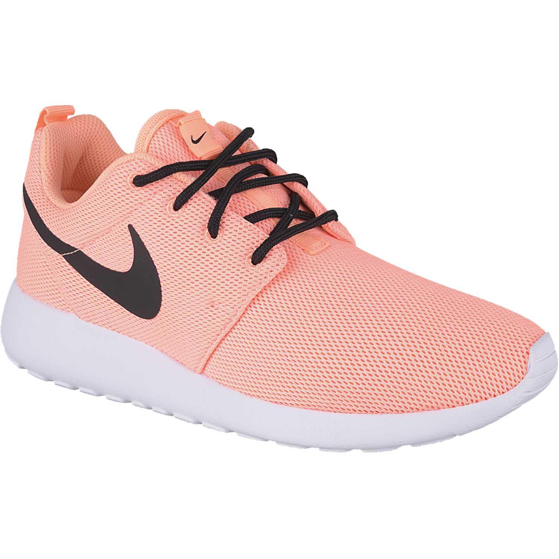 Nike wmns roshe one Naranja / negro Walking