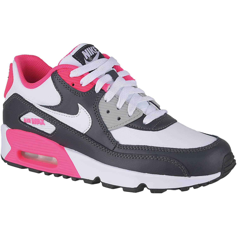 Continuación Alas Continuamente  Nike AIR MAX 90 LTR GG Blanco / negro Walking | platanitos.com