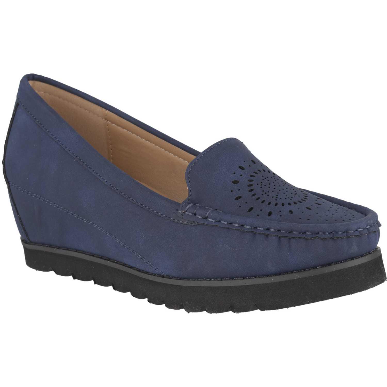 Platanitos mw-8513 Azul Mocasines y Slip-Ons