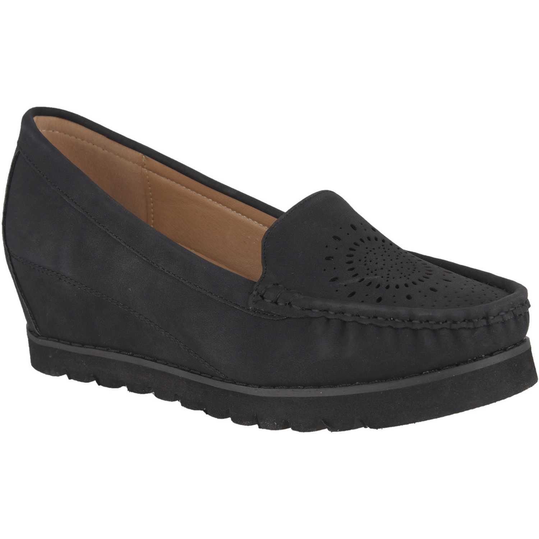 Platanitos mw-8513 Negro Mocasiones y Slip-Ons