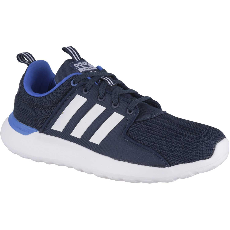 adidas NEO cf lite racer Azul / blanco Walking