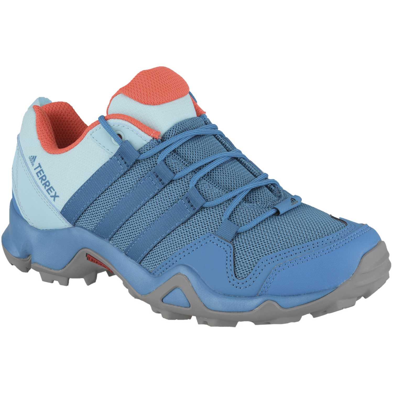 Adidas terrex ax2r w Turquesa / azul Trail Running ...