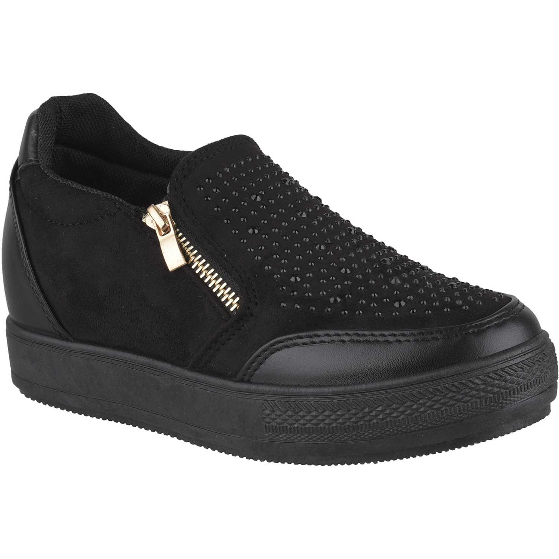 Platanitos zw-9c001 Negro Zapatillas Fashion