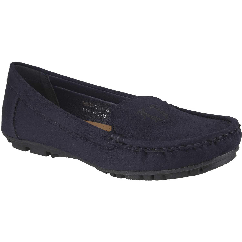 Platanitos M-70643 Azul Mocasines y Slip-Ons