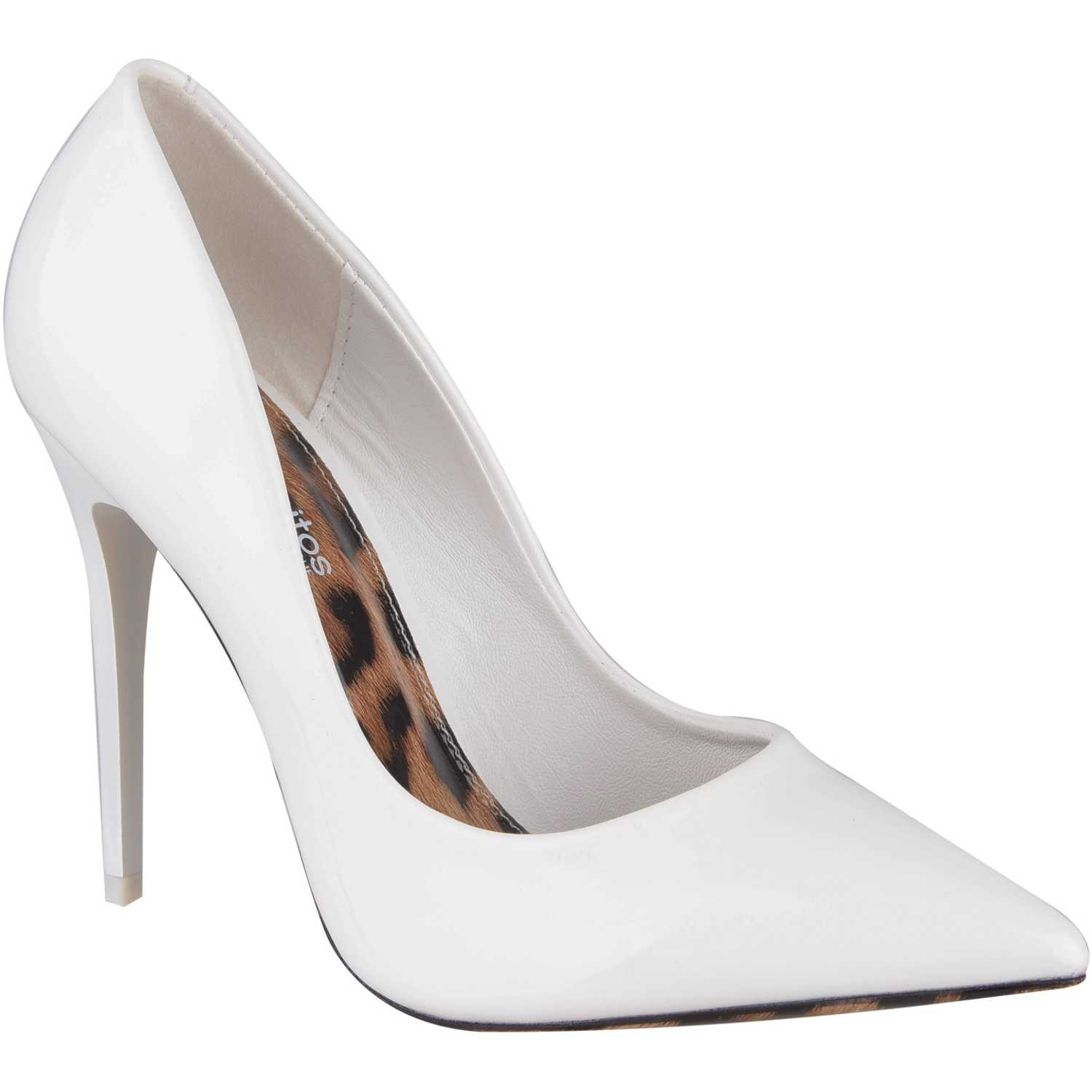 Platanitos C-V-50329 Blanco Estiletos y Pumps