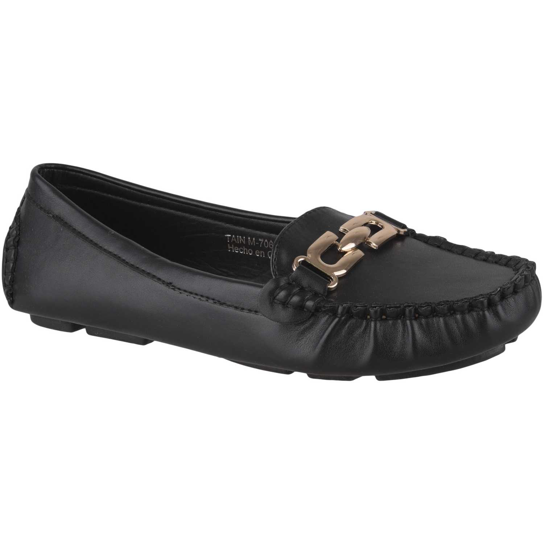 Platanitos m-70652 Negro Mocasiones y Slip-Ons