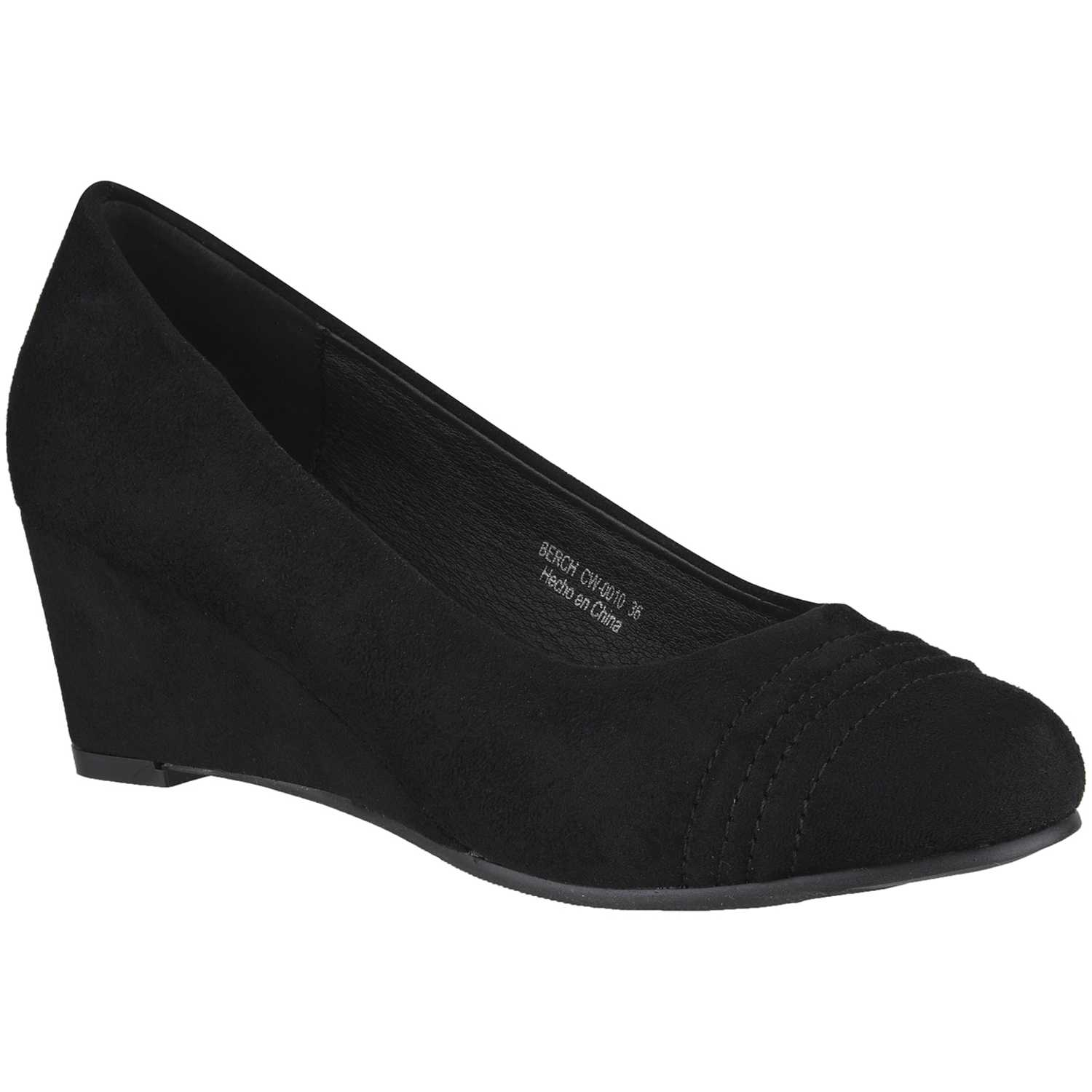 Platanitos cw-0010 Negro Estiletos y Pumps