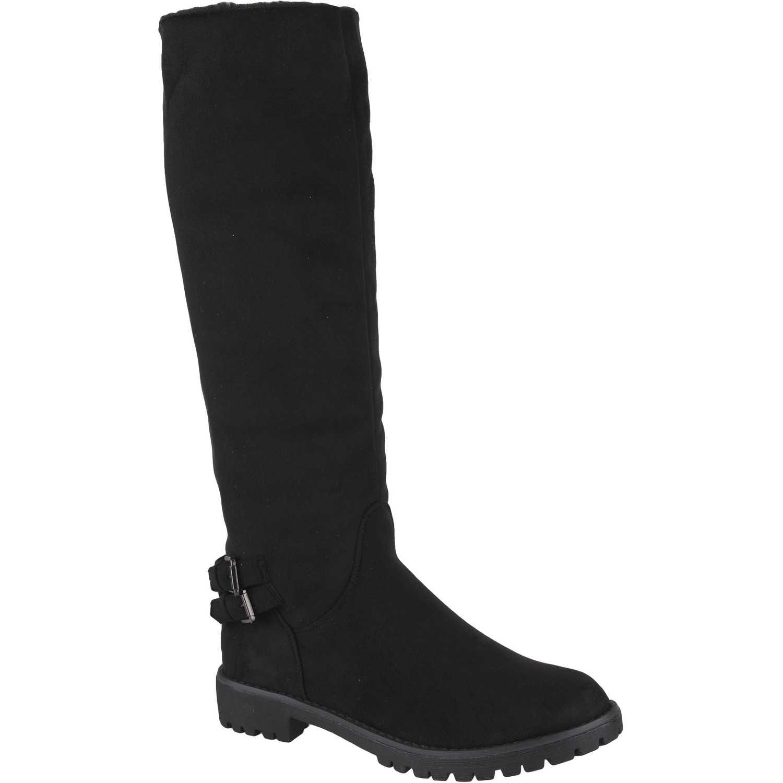 Botas de Mujer Platanitos Negro bf-6496