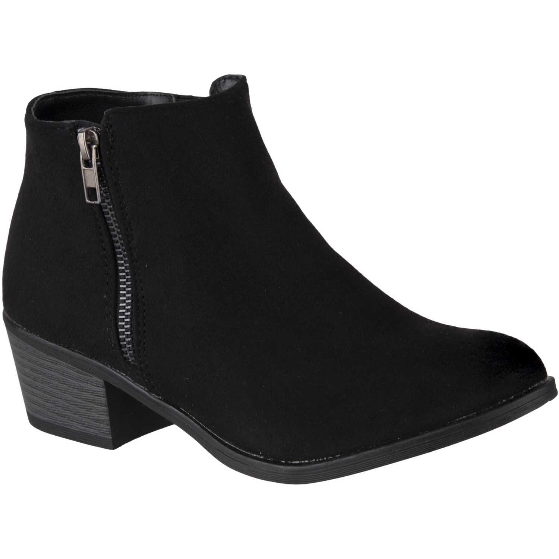 Botínes de Mujer Platanitos Negro bt-2504g