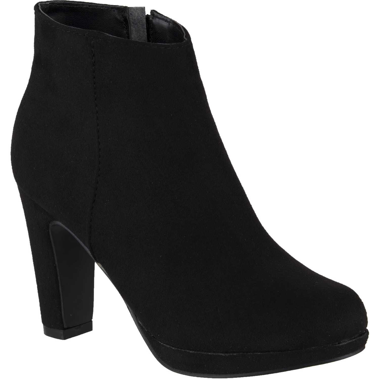 Botínes de Mujer Platanitos Negro btp-53015
