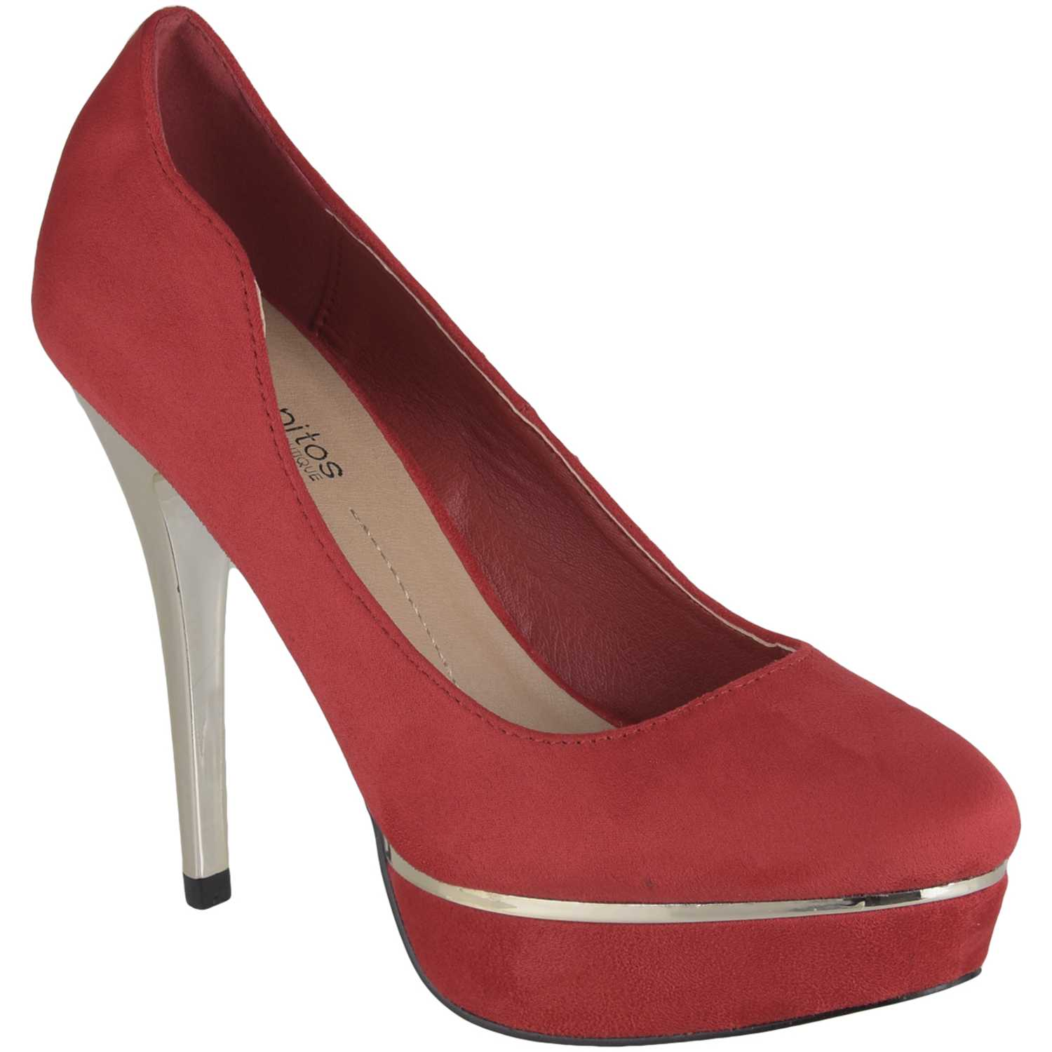 Platanitos cp-v-15a1 Rojo Estiletos y Pumps