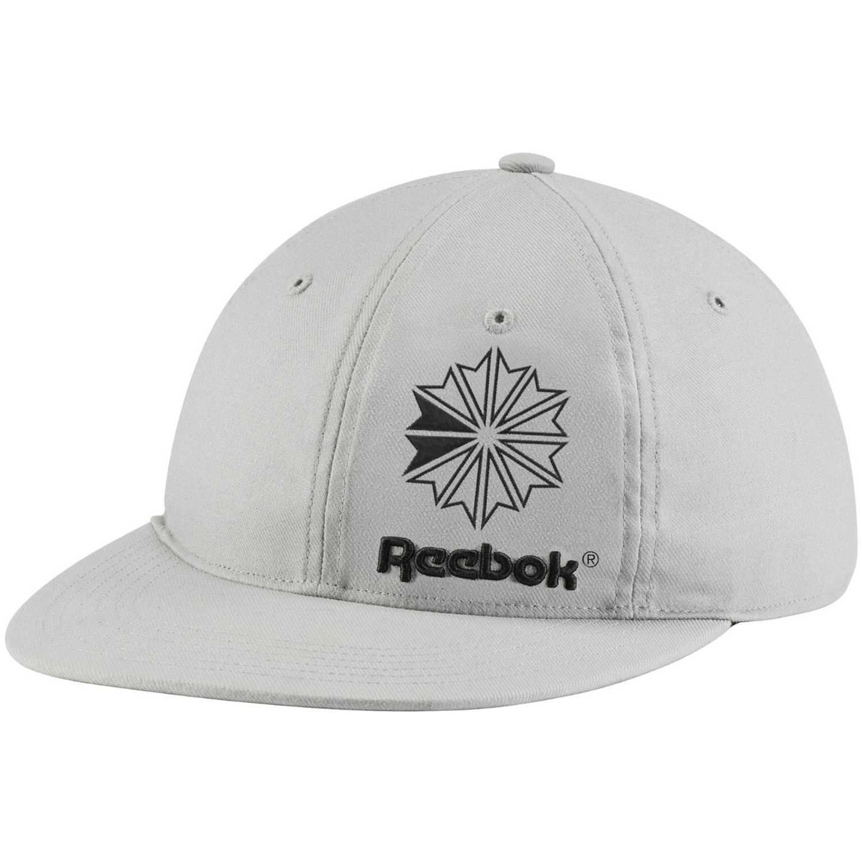 Reebok cl iconic taping cap Gris / negro Gorros de Baseball