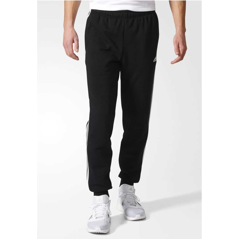 Adidas ess 3s tcf p ft Negro / blanco Pantalones Deportivos