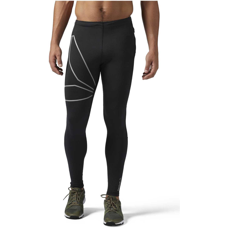 Pantalón de Hombre Reebok Negro /gris osr tight