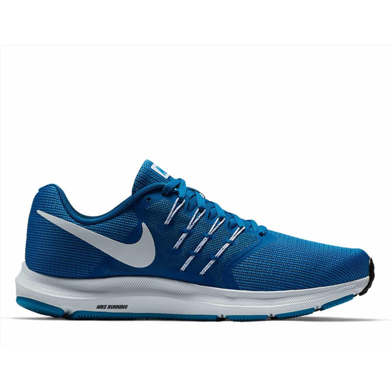 Piscina el plastico Seguir  Nike Run Swift Azul / blanco Calzado de correr | platanitos.com