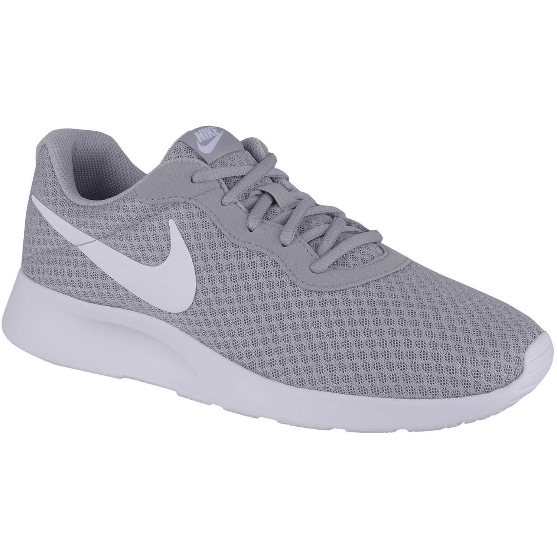 Nike tanjun Gris blanco Walking |