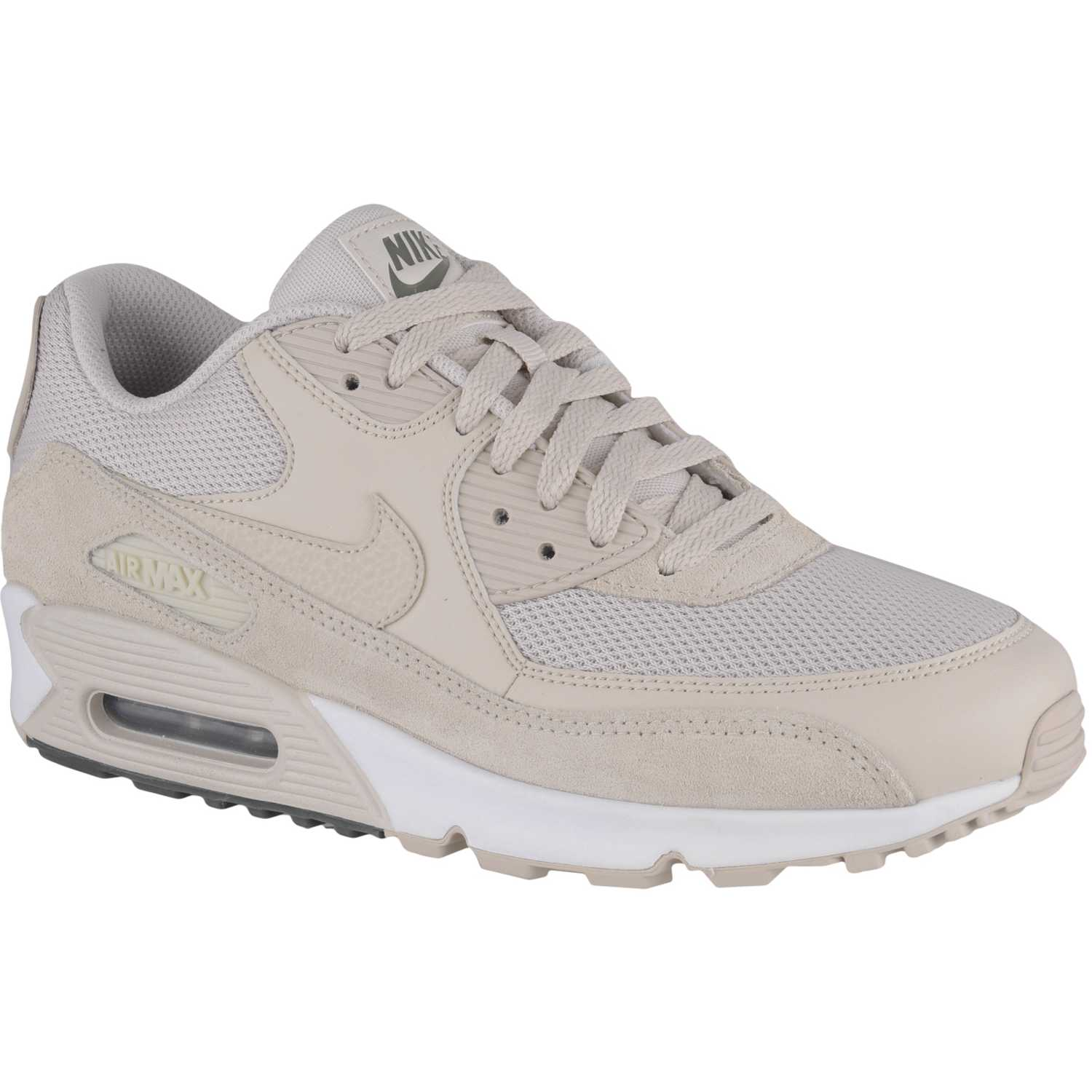 Nike air max 90 essential Beige blanco Walking