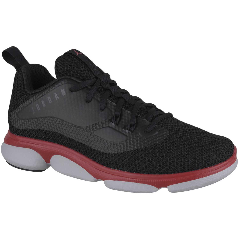 Cuña de Mujer Nike Negro / rojo jordan impact tr