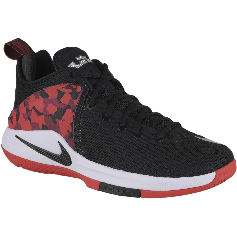 Cuña de Mujer Nike Negro / rojo zoom witness