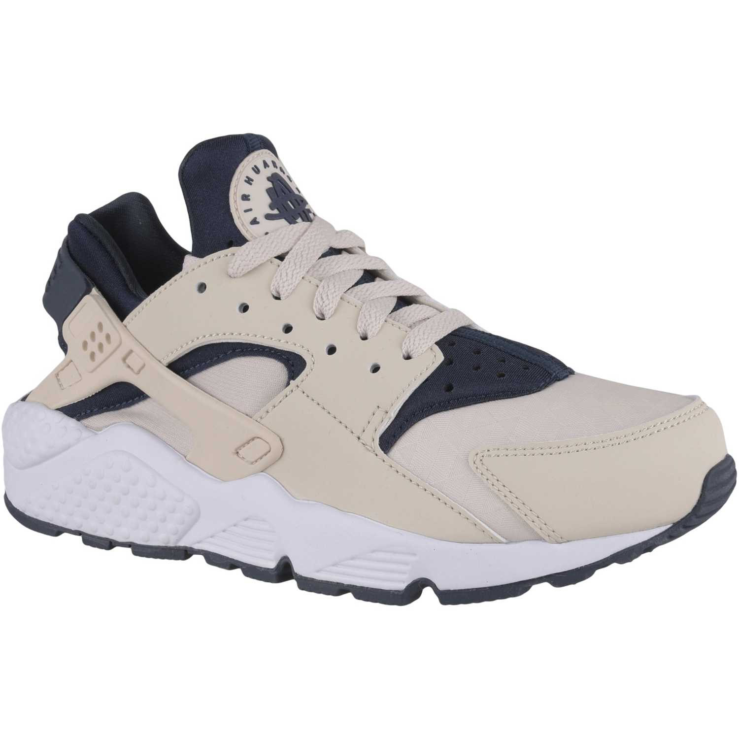 the best attitude 17697 91fcc Cuña de Mujer Nike Beige / azul wmns air huarache run ...
