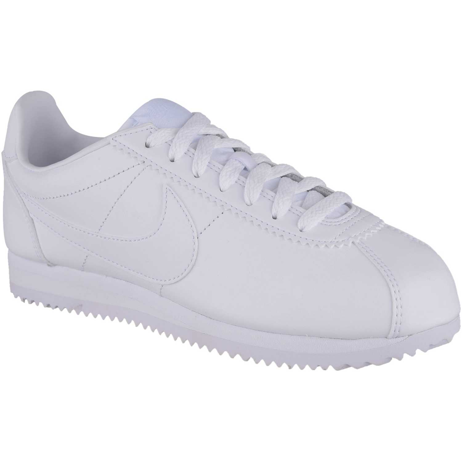 Nike Wmns Classic Cortez Leather BLANCO / BLANCO Walking