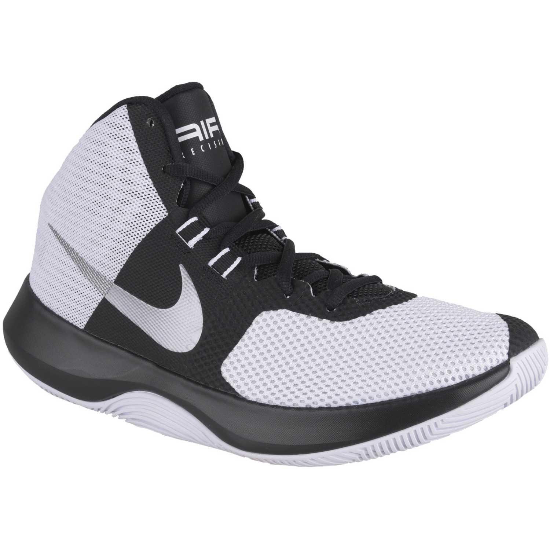 Nike air precision Gris / negro Hombres