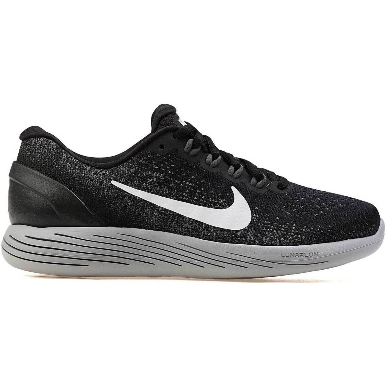 Nike Wmns Lunarglide 9 Negro / blanco Calzado de correr