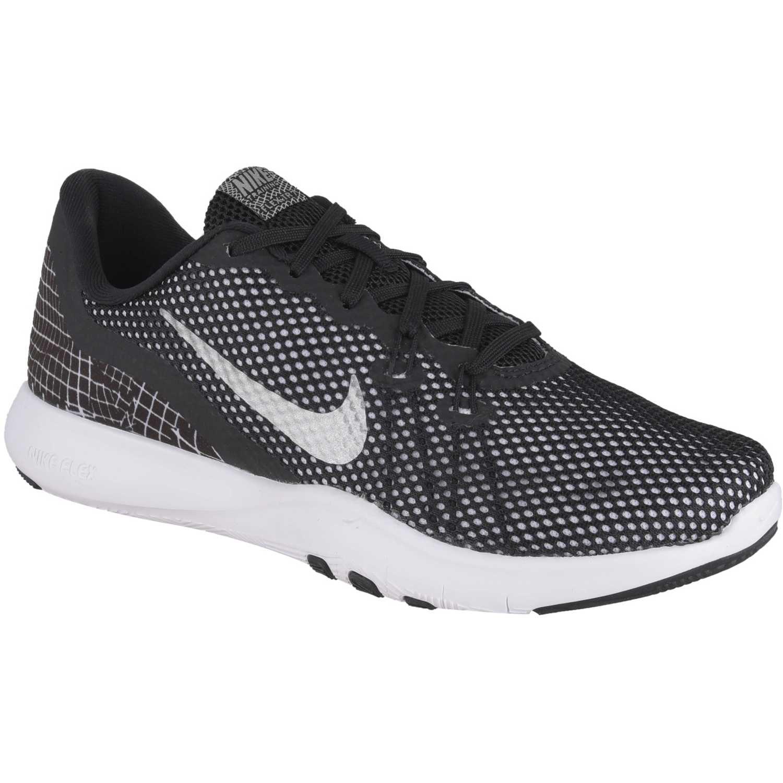 Deportivo de Mujer Nike Negro / blanco w flex trainer 7 print