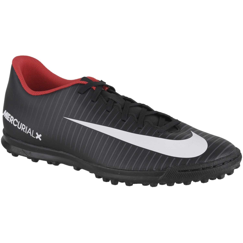 Casual de Mujer Nike Negro blanco mercurialx vortex iii tf