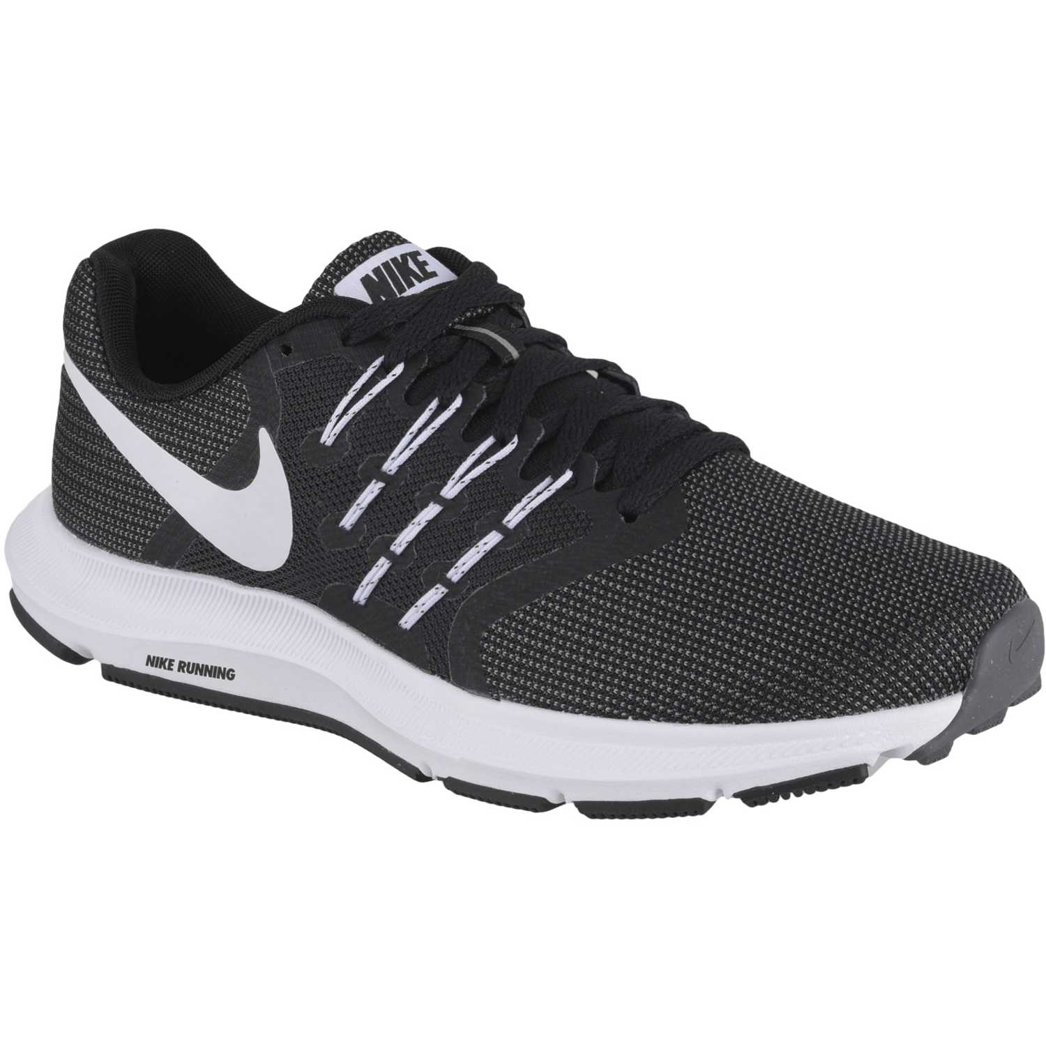 Nike WMNS RUN SWIFT Negro / blanco Running en pista