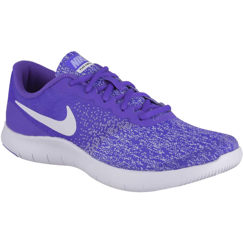 Nike flex contact gg Morado / blanco Muchachos