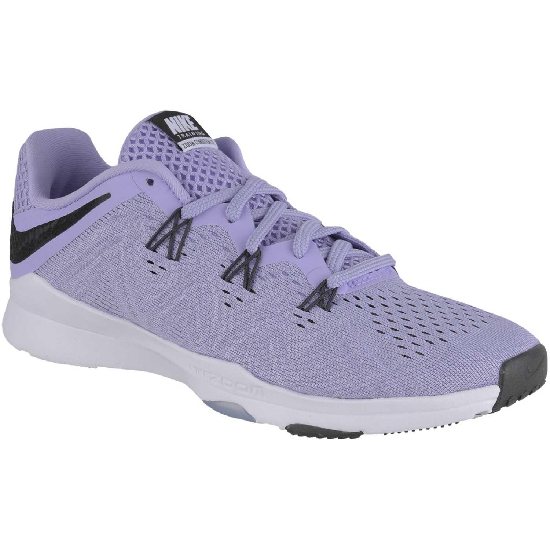 Nike wmns zoom condition tr Morado / blanco Mujeres