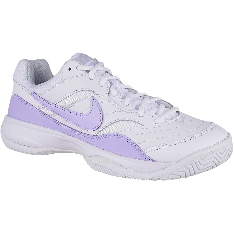 Nike wmns court lite Blanco lila  