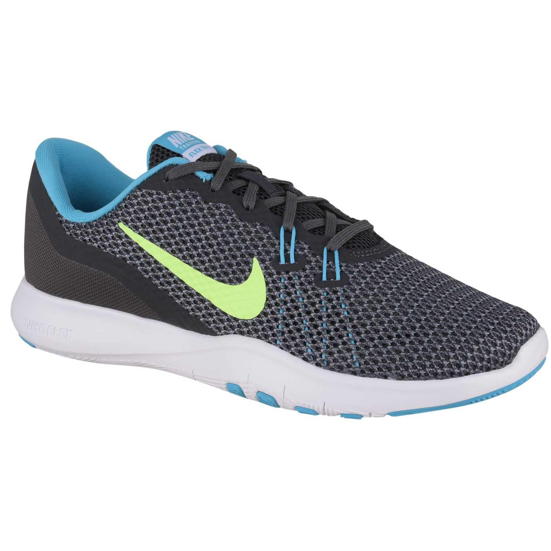 Deportivo de Mujer Nike Plomo / verde wmns flex trainer 7