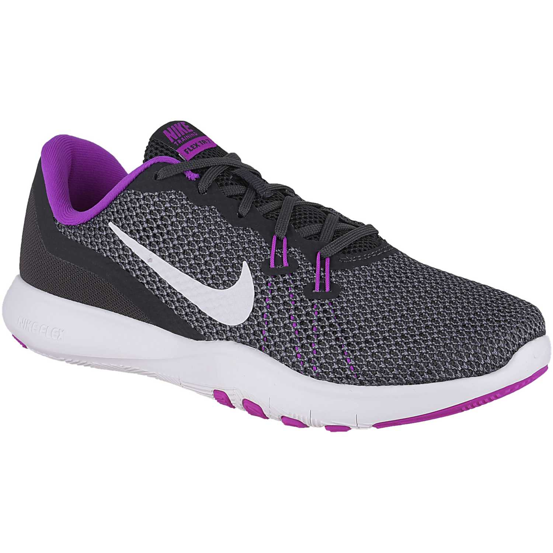 cefb544f3cfc Deportivo de Mujer Nike Plomo / morado wmns flex trainer 7 ...