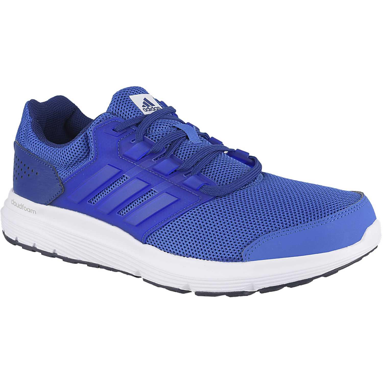 Adidas galaxy 4 m Azul / blanco Running en pista