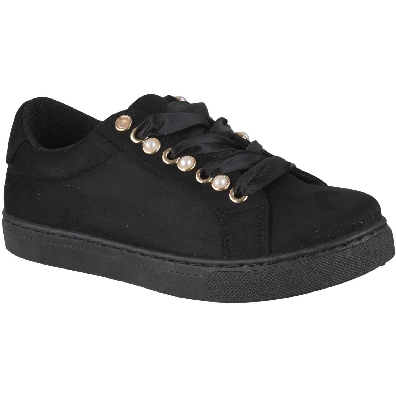Zapatillas de Mujer Platanitos Negro zc-809