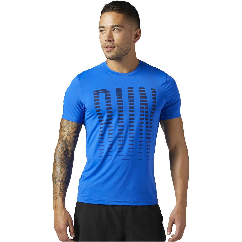 Reebok osr ss ac tee Azul Camisetas y Polos Deportivos