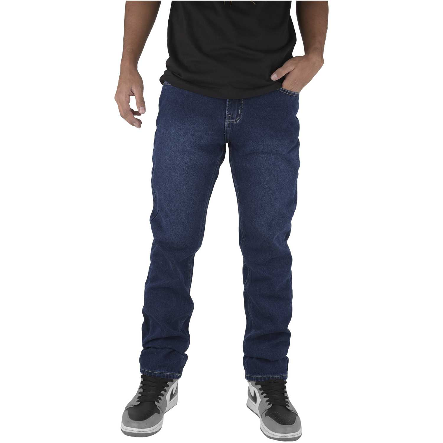 CUSTER wash Azul Casual