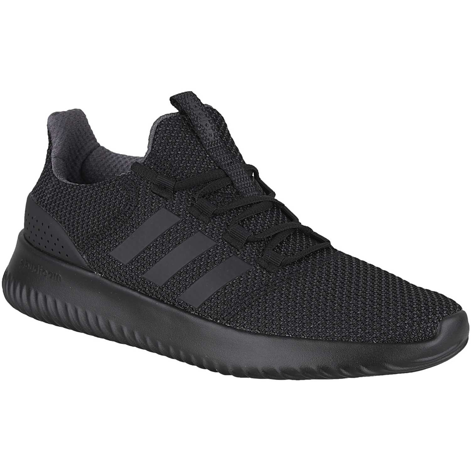 adidas NEO cloudfoam ultimate Negro / negro Walking ...